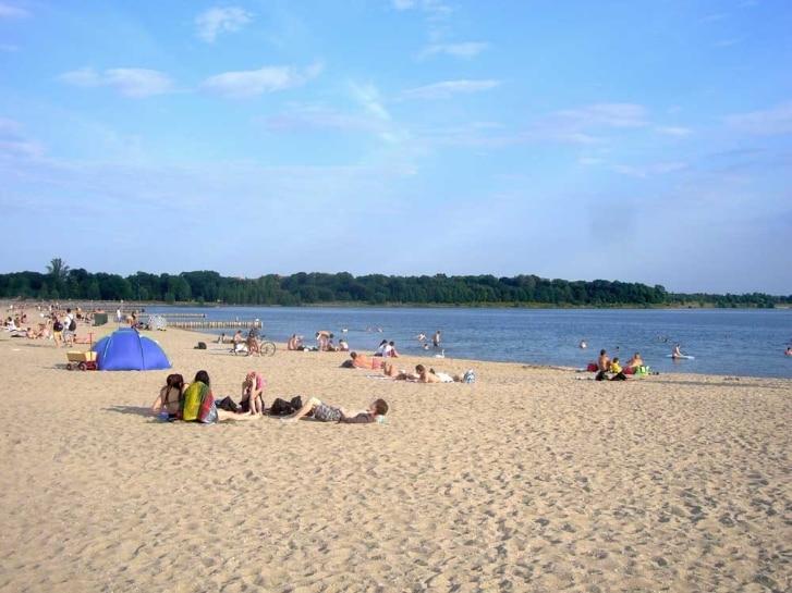 Strand am Cospudener See