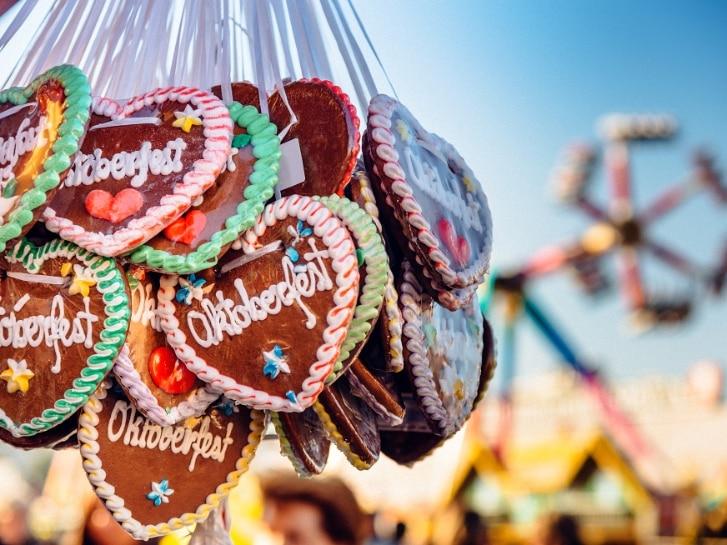 Volksfest Lebkuchenherzen