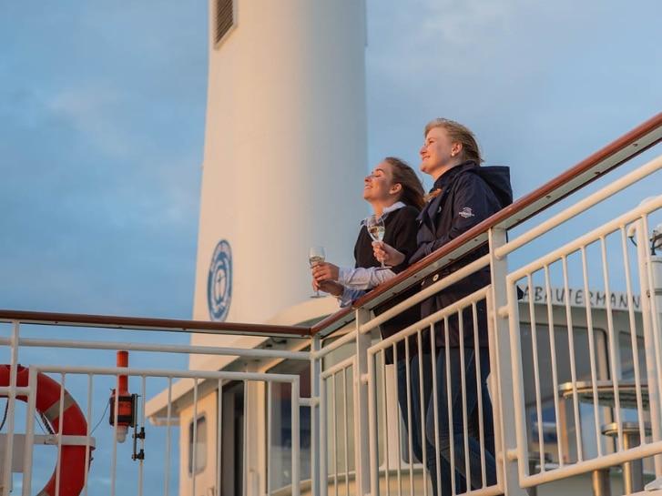 Thalasso an der Nordsee, Schiff