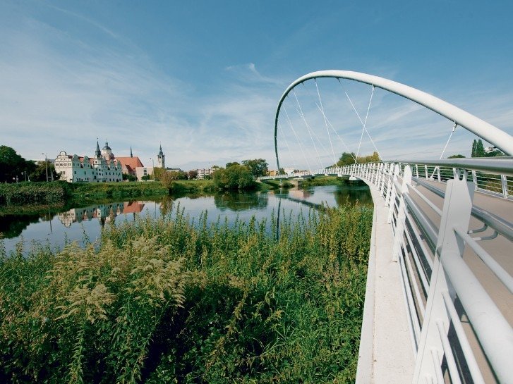 Tiergartenbrücke bei Dessau-Roßlau