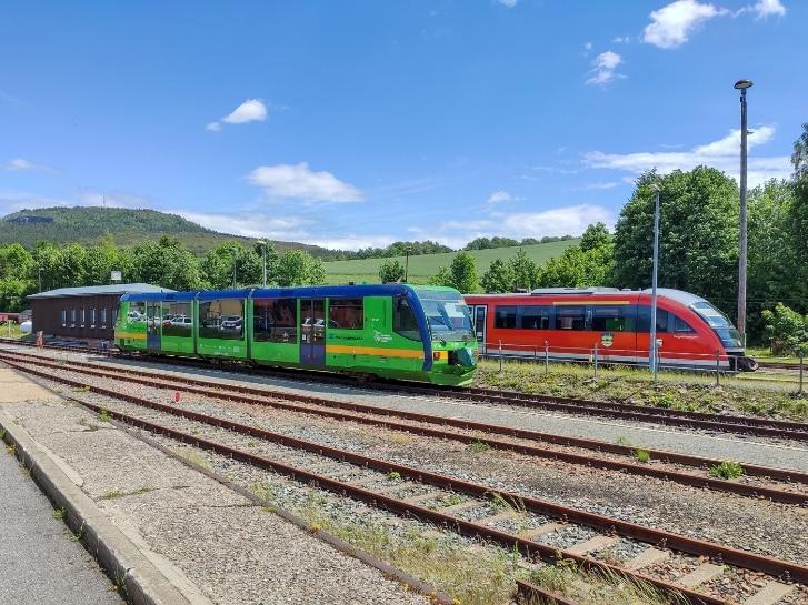 Züge in Cranzahl