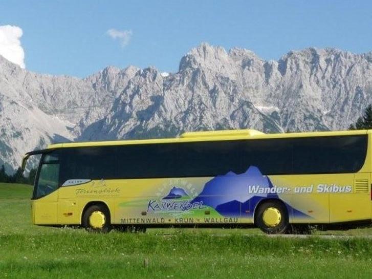 Wander- und Gästebus Alpenwelt Karwendel
