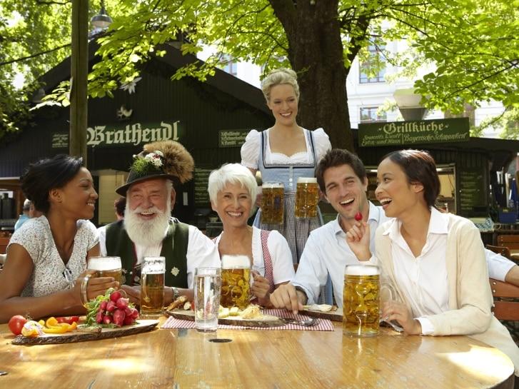 200 Jahre Biergarten in Bayern