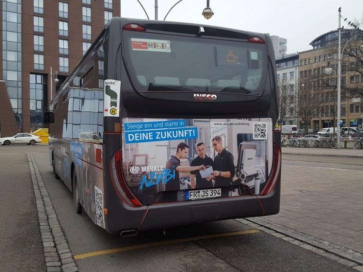 Buswerbung SüdBest