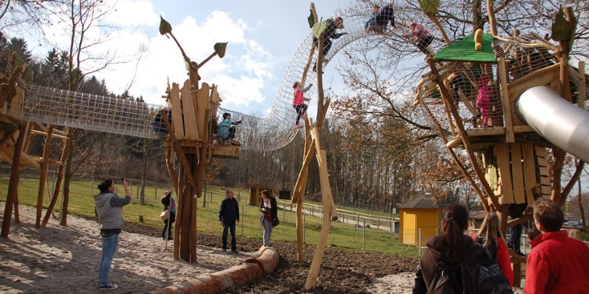 Baumwipfelpfad Freizeitpark Lochmühle
