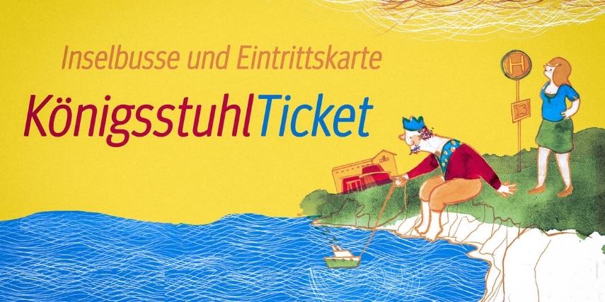Königsstuhl-Ticket