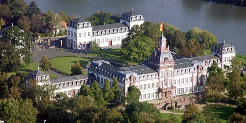 Schloss Philippsruhe Hanau Vogelperspektive