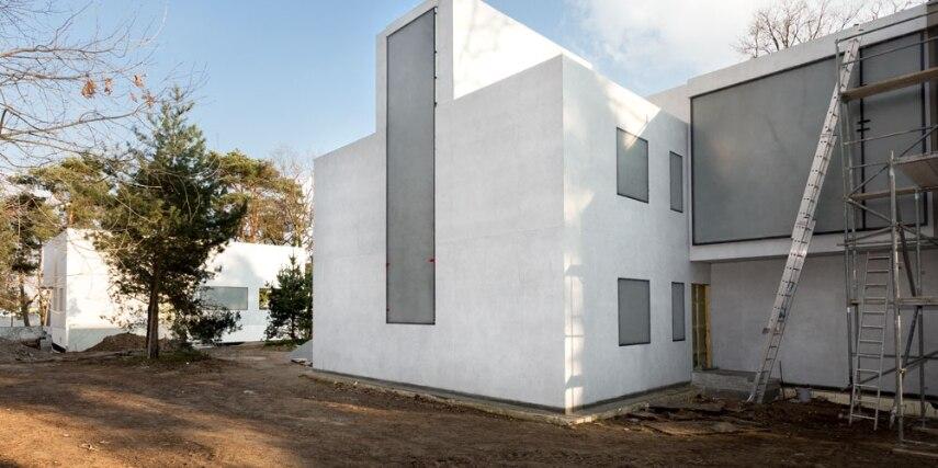 Das neue Meisterhaus Mohly-Nagy, Bruno Fioretti Marquez Architekten 2010-2014