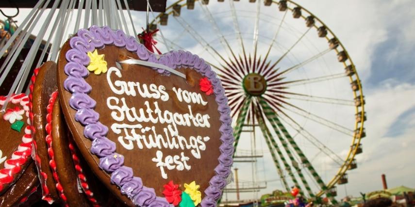 Riesenrad auf dem Stuttgarter Frühlingsfest