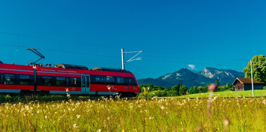 Ammergauer Alpen Zug