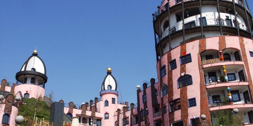Hundertwasser-Bauwerk: Die grüne Zitadelle von Magdeburg