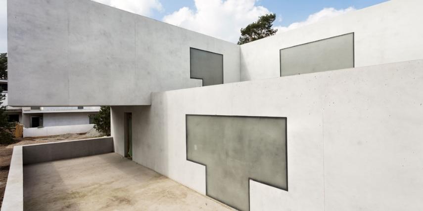 Das neue Meisterhaus Gropius, Bruno Fioretti Marquez Architekten 2010-2014, Terrasse