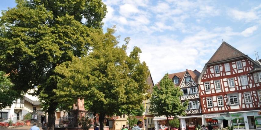 Marktplatz in Bensheim