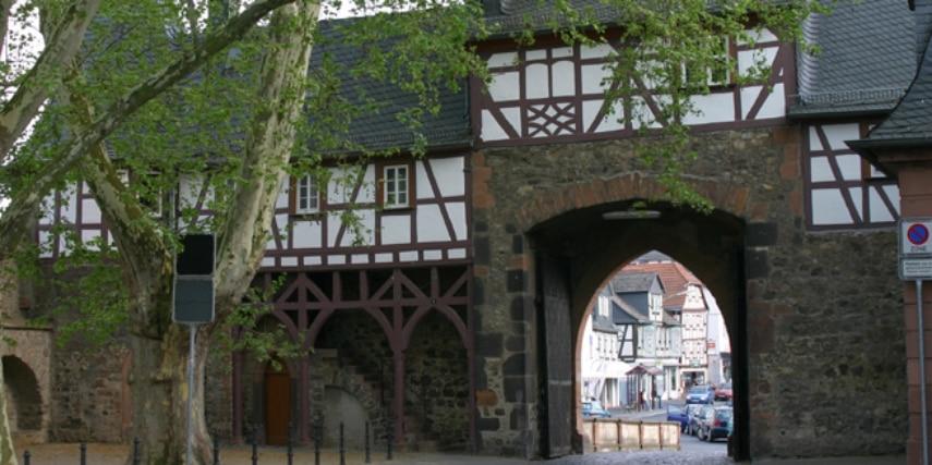 Friedberger Burg: südliches Burgtor