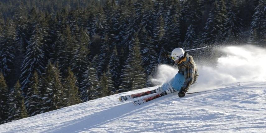 Skier on the Feldberg