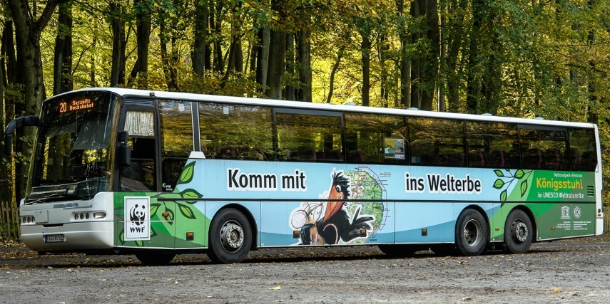 Welterbe-Bus