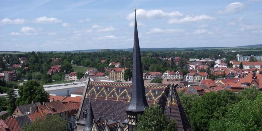 Blick auf St. Petri