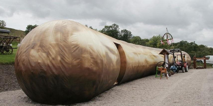 Thüringenbratwurst (26m lang)