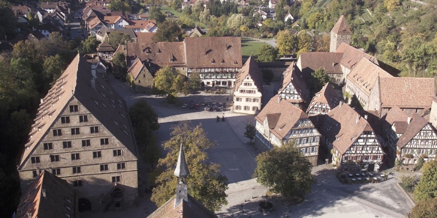 Kloster Maulbronn Luftaufnahme