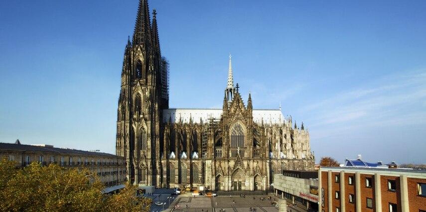 Außenansicht Kölner Dom
