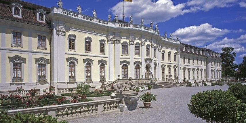Das Ludwigsburger Schloss ist eines der größten im Original erhaltenen barocken Bauwerke in Europa.