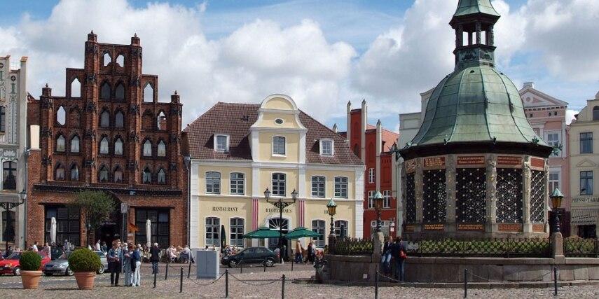 Wasserkunst in Wismar