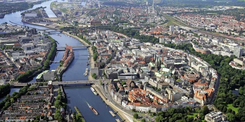 Luftaufnahme Bremen