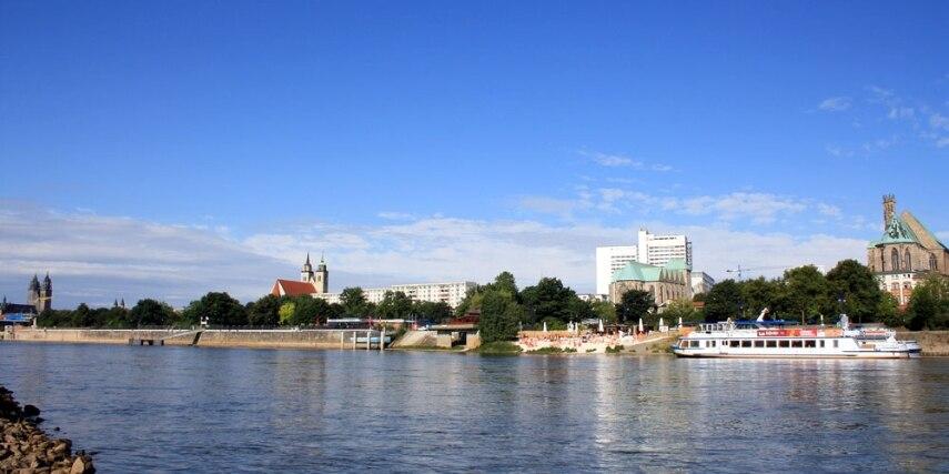 Stadtansicht vom Werder