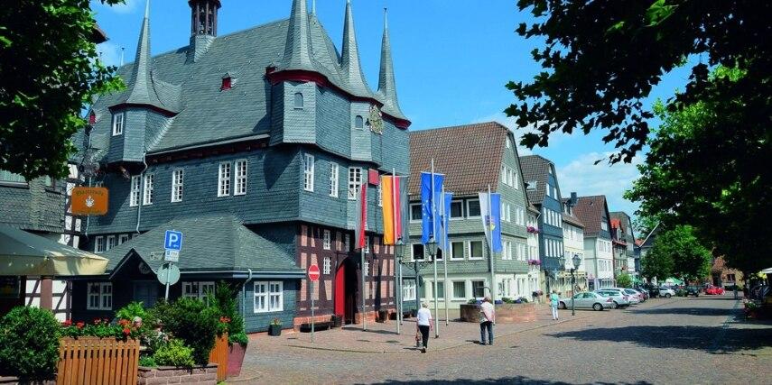 Rathaus in Frankenberg (Eder)