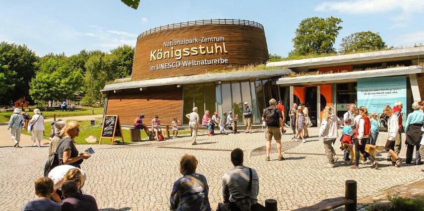 Eingang Besucherzentrum