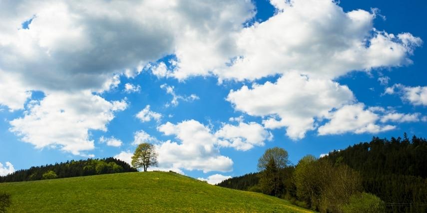 Landschaft Naturpark Frankenwald