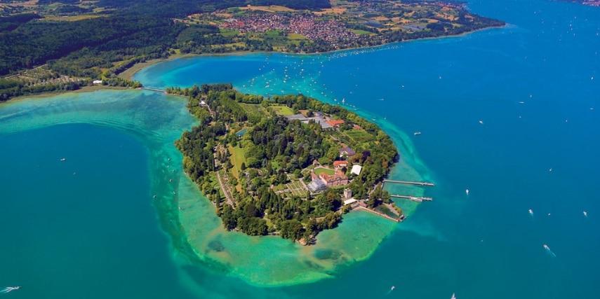 Insel Mainau Luftbild