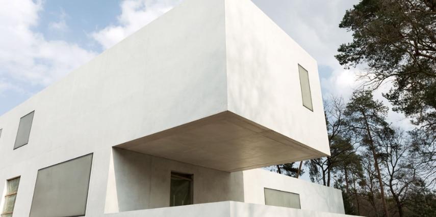 Das neue Meisterhaus Gropius, Bruno Fioretti Marquez Architekten 2010-2014, von der Gartenseite