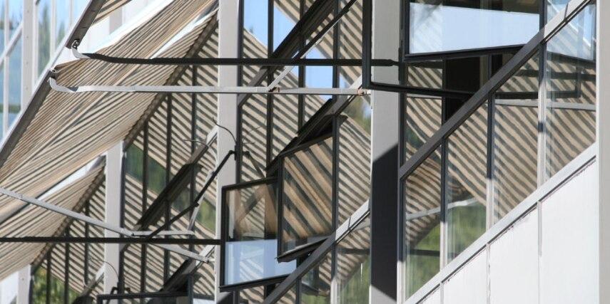 Fagus Werk Alfeld, Fenster