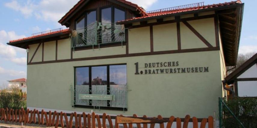 1. Deutsches Bratwurstmuseum - Außenansicht