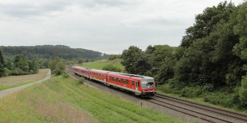 Umweltfreundlich mit der Bahn