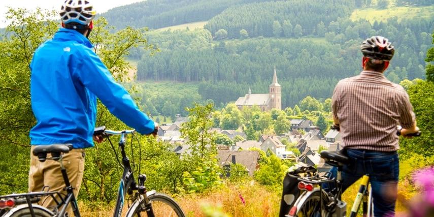 Radfahrer, Winterberg