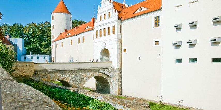 In Schloss Freudenstein befindet sich die terra mineralia
