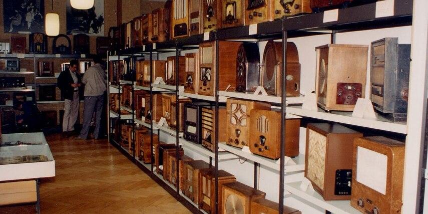 Radiosammlung im Radiomuseum Bad Laasphe