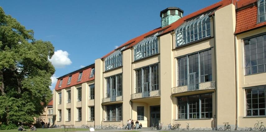 Hauptgebäude Bauhaus Universität Weimar