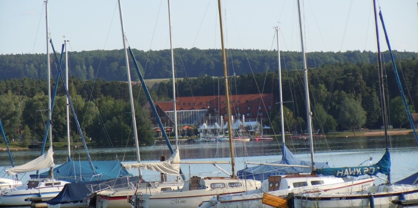 Boote am Brombachsee