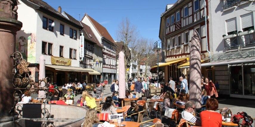 Fußgängerzone Bensheim