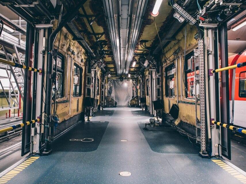 Modernisierung  S-Bahn-Zug