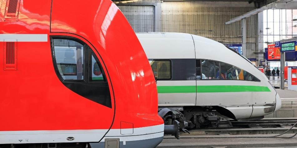 Trenes en la Estación Central de Múnich