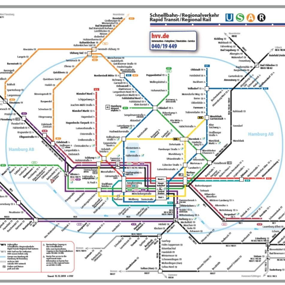 HVV Schnellbahn/Regionalverkehr