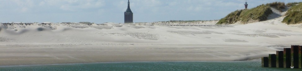 Wangerooge, Blick auf Westturm