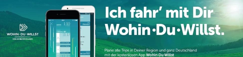 Wohin du Willst App