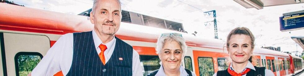 Mitarbeiter im Prüfdienst S-Bahn München
