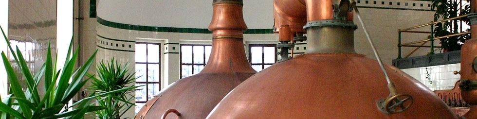 Brauereikessel in Franken
