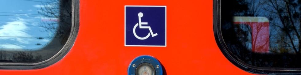Rollstuhlknopf